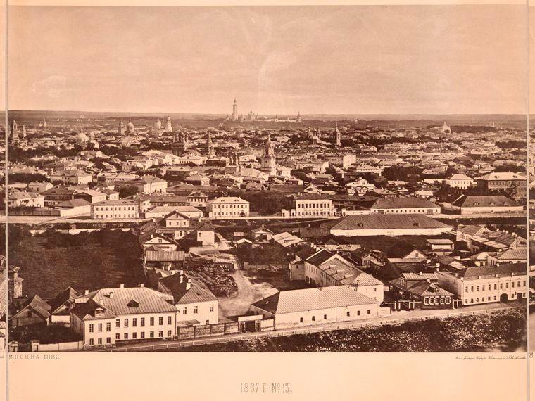 Москва без людей в 1867 году. Где все люди?, изображение №25