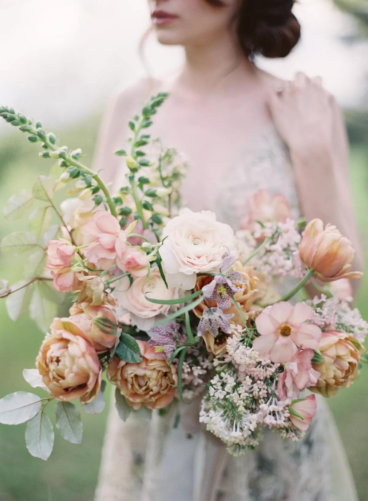 o1gEz fhJc0 - Букет невесты из тюльпанов