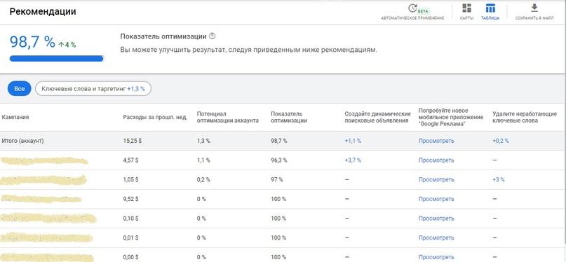 Как работает опция автоматического применения рекомендаций в Google Ads, изображение №2