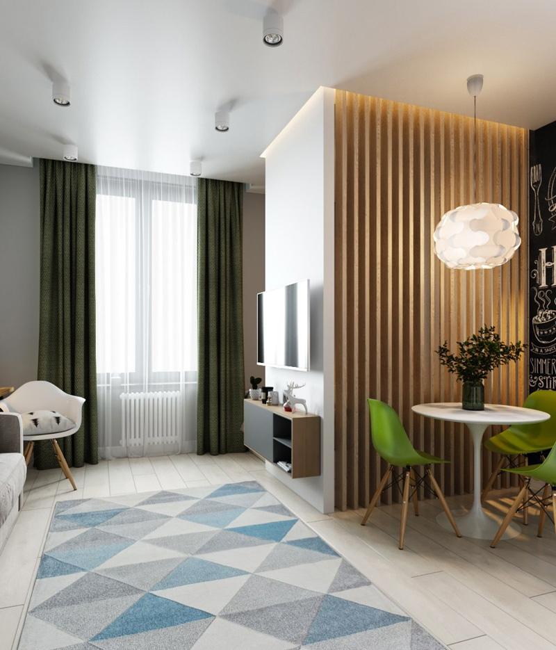 Дизайн-проект квартиры 30,5 кв.