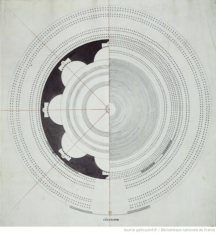 Загадка архитекторов Этьена Булле и Клода Леду идеи которому давали «сущности выходящие из тени», изображение №14