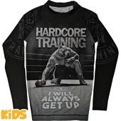 Детский рашгард Hardcore Training х Ground Shark Die Hard