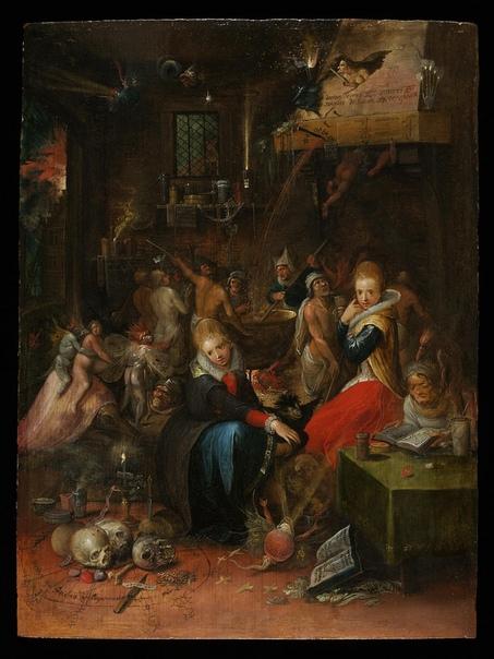 Бесы на ведьминской кухне. Франс Франкен Младший