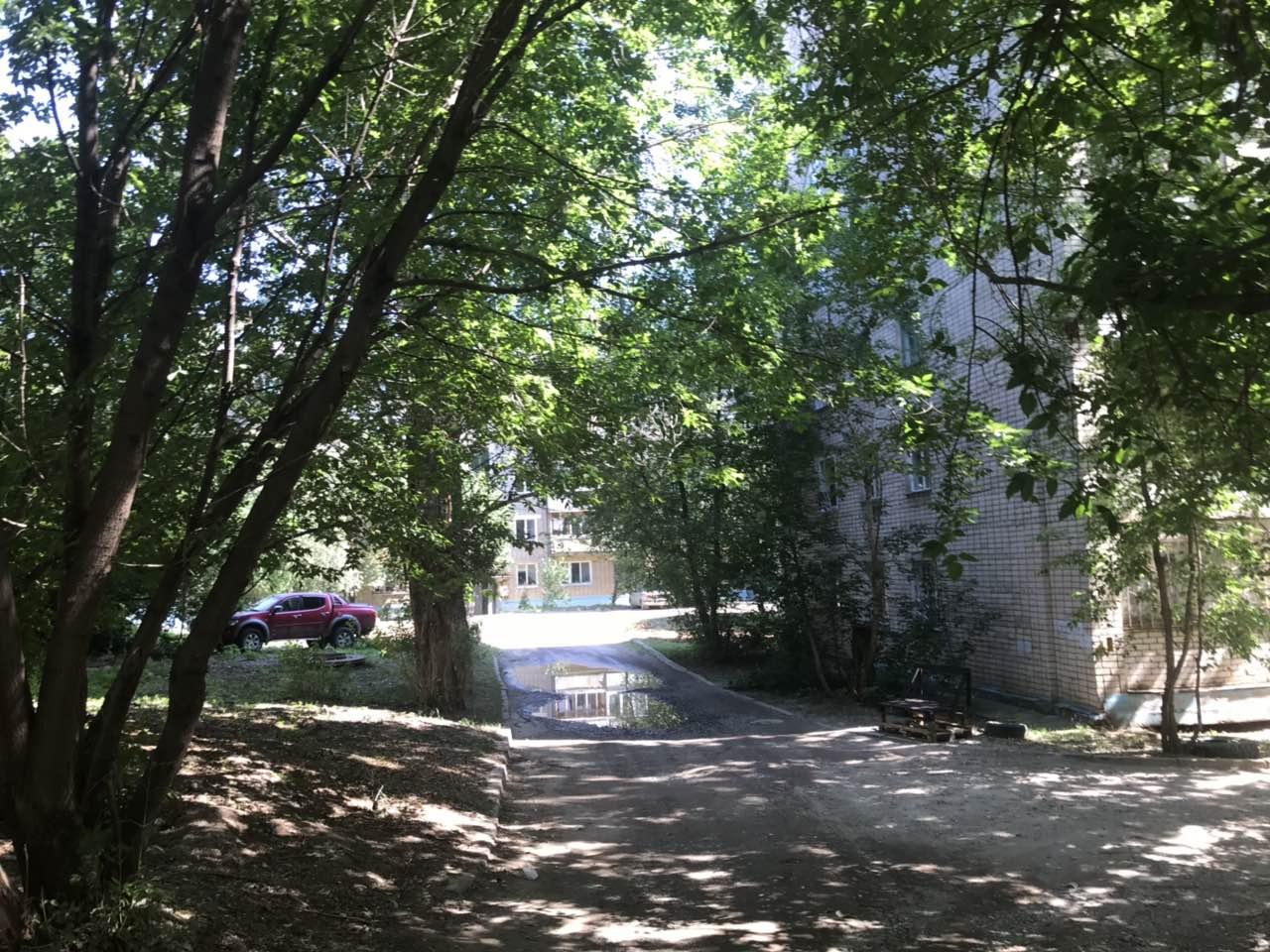 Улица Менделеева дом 7 -кошение