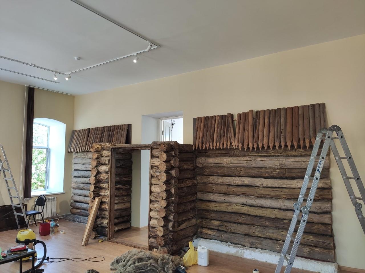 В музейном комплексе имени И.В. Панфилова продолжается создание экспозиции «Крепость Петровск»