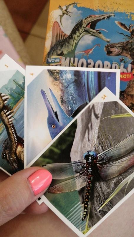 Наклейки динозавры оживающие из | Объявления Орска и Новотроицка №16768