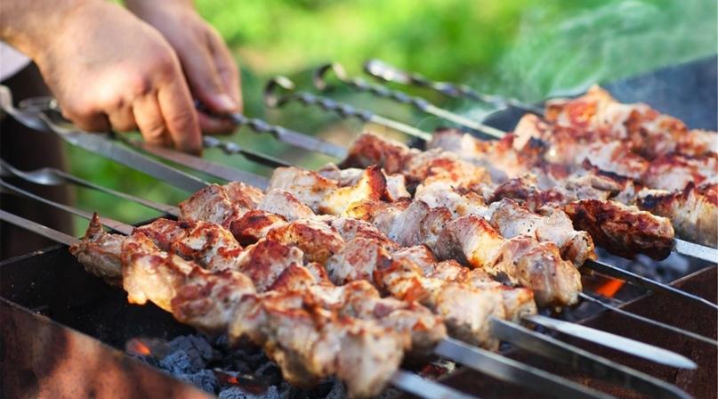 Доставка маринованного мяса по специальному рецепту от ресторана «АйДаБаран» в бизнес-центре «Нагатинский»