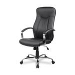 Офисное кресло College H-9152L-1, экокожа, черный