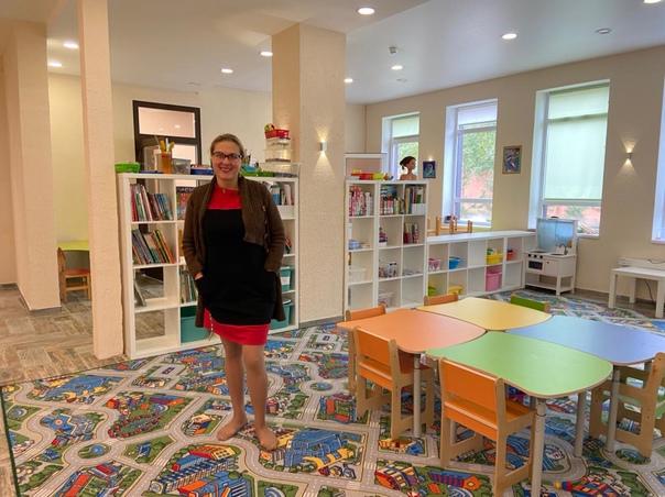 Сегодня наш Фонд побывал в гостях у Детского клуба-сада