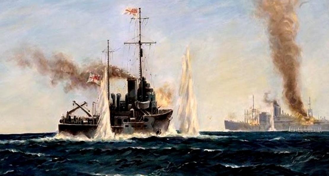 Бой с крейсерами