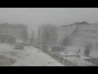 Ураганный Ветер обрушился на Хабаровский край ( Советская Гавань ) ...