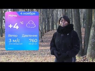 Прогноз погоды от Жулиен на 4 ноября