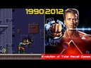 Evolution of Total Recall Games 1990 2012