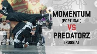 Momentum (Portugal) vs Predatorz (Russia) | Semi Final | Warsaw Challenge 2018