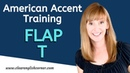 American Accent Training: The Flap T Sound