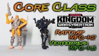 Обзор на TRANSFORMERS KINGDOM - Rattrap/Vertebreak (WFC-K2/WFC-K3)