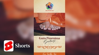 Guru Poornima Greetings - 2021 | Sri Sathya Sai Media Centre | Prasanthi Nilayam | #Shorts