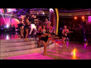 DWTS18 - Opening Group Number Featuring Ricky Martin -  Latin Night - Week 7
