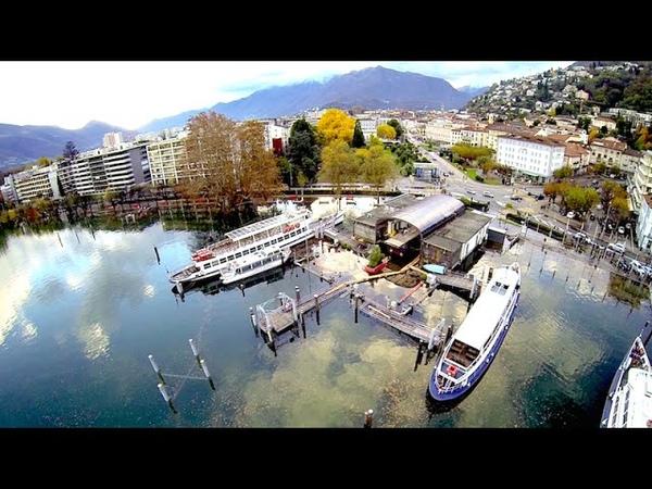 Esondazione Lago Maggiore 2014 Locarno e Dintorni Drone View