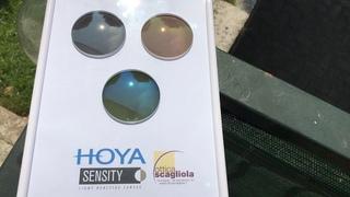 HOYA Sensity Shine test