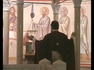2015_Ранняя литургия.  Служит архим. Зинон (Теодор)