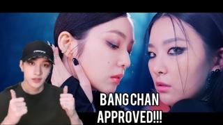 Stray Kids Bang Chan Reaction To Red Velvet - IRENE & SEULGI 'Monster' MV