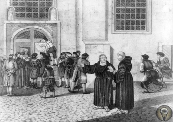 Реформатор на вороном коне Католик Мартин Лютер, желая улучшить одну церковь, основал другую31 октября 1517 года немецкий монах-августинец, доктор Виттенбергского университета Мартин Лютер