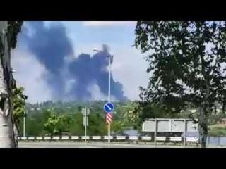 . Горит что-то в Донецке сильно