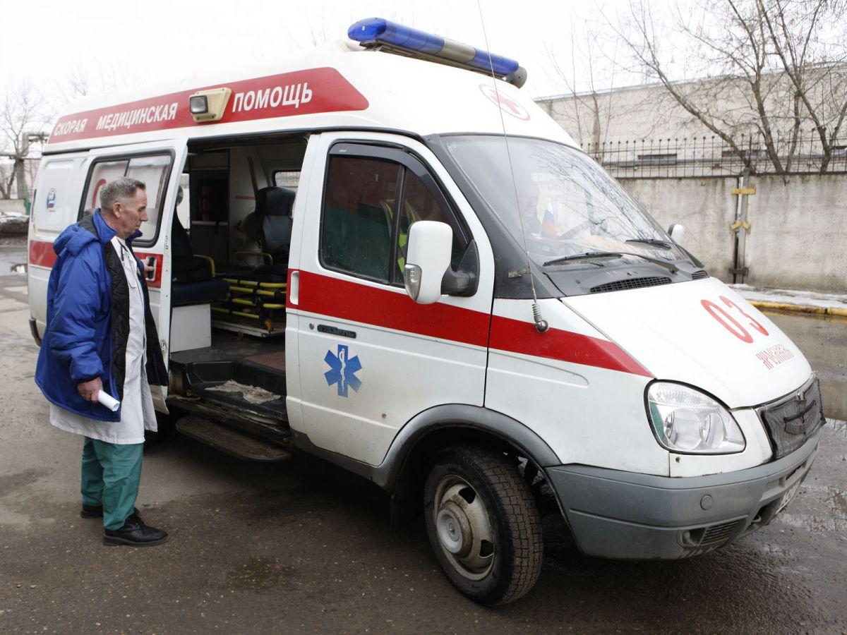 Две женщины пострадали при столкновении автобусов в Ярославле