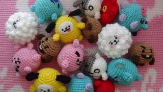 MINI BT21 TUTORIAL // BTS crochet pattern