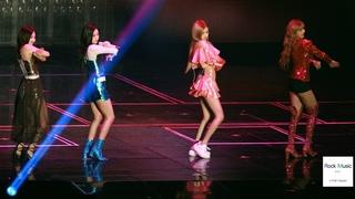 블랙핑크(BLACK PINK)원더걸스 (Wonder Girls) so hot 쏘핫[4K 직캠]@181111 락뮤직