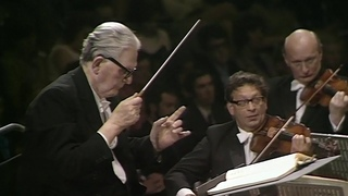 Beethoven Symphony No. 9 conducted by Otto Klemperer (Royal Festival Hall, London, 1970) #WithMe