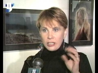 """Personal photo exhibition of Andrey Podoshian in Great Manege. Moscow. TV """"TVC"""" (2001)"""