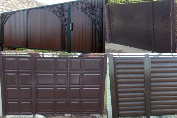 Установить ворота калитку в Харьковской области
