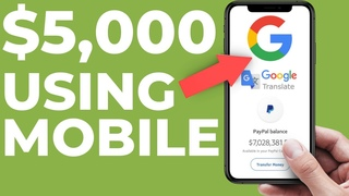 EARN $300 Per Hour From Your MOBILE PHONE With Google Translate