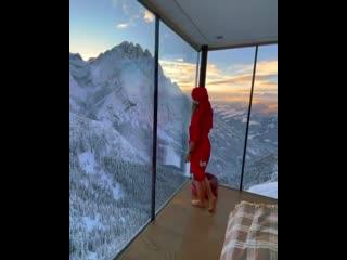 Самый крутой вид из окна 😳