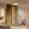 Стеклянные двери, душевые, перегородки из стекла