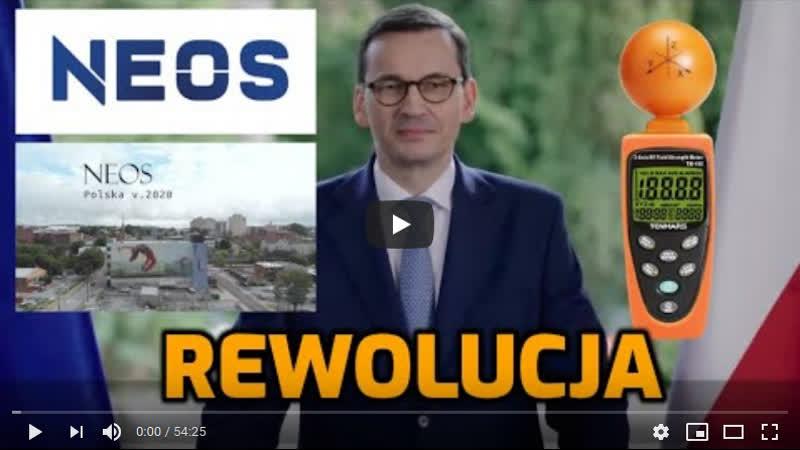 12 04 2020 NEOS Nowy System to Kreatywna Rewolucja Koniec okradania i mordowania Polaków