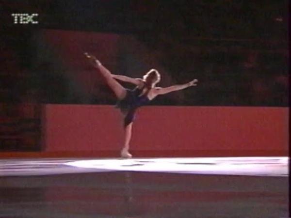 Ирина Слуцкая этап Гран при в Москве 2002 показательные выступления