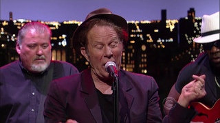 Tom Waits On Late Show With David Letterman - Chicago [HD]
