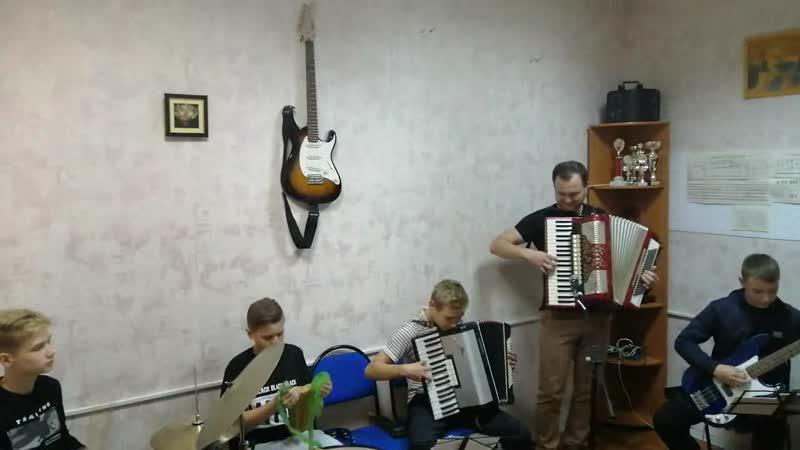 Ансамбль Карамбола с пьесой Super Mambo