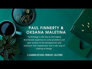 Interview with Paul Finnerty & Oksana Maletina