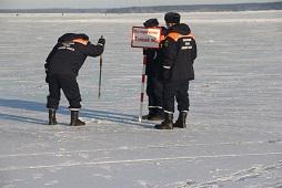 Будьте осторожны на льду! Предупреждают спасатели