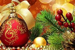 Руководители района поздравили жителей муниципалитета с зимними праздниками