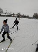 В Частой Дубраве отличная лыжня