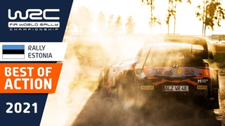 Best of rally action - WRC Rally Estonia 2021