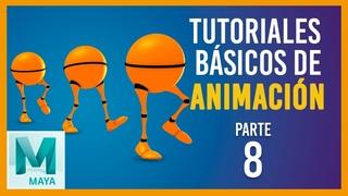 Tutorial básico de animación en Maya ::: Ciclo de caminata / Walk Cycle Maya