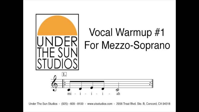 Vocal Warmup 1 for Mezzo Soprano