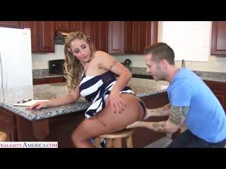 Трахнул сочную зрелую соседку, busty milf mom woman sex mature porn milk tit fake boob fuck wife ass butt cum HD (Hot&Horny)
