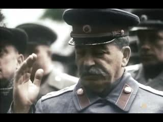 И.В.Сталин в Берлине, Потсдамская конф-я, июль 1945 г., документальные кадры, HD1080